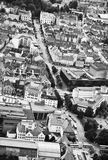 Aerial view of Bergen Stock Photography