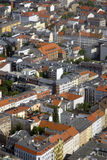 Aerial view on Berlin Stock Photography
