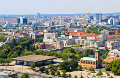 Aerial View of Berlin. Germany during beautiful sunny day Stock Images