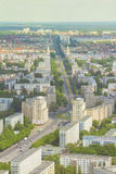Aerial view of Berlin skyline with colorful buildings Stock Photography