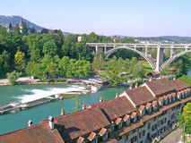 Aerial view of Berne Royalty Free Stock Images