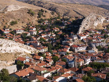 Aerial View of the Beypazari Houses Royalty Free Stock Photography