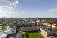 Aerial view of Bialystok, Poland Stock Photos