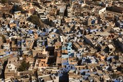 Aerial view of Bikaner Stock Photos