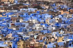 Aerial view of Bikaner Royalty Free Stock Photography