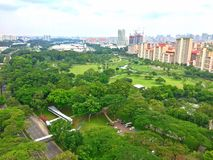 Aerial view - Bishan, Singapore Royalty Free Stock Photo