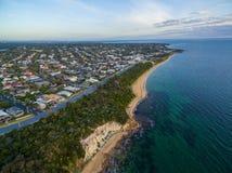 Aerial view of Black Rock suburb, Melbourne, Australia Stock Photography
