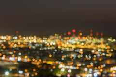 The aerial view of blurry image of Refinery plant royalty free stock photography