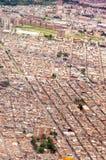 Aerial View of Bogota Royalty Free Stock Image