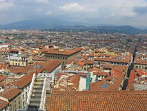Aerial View of Bologna city Italy Stock Photography