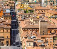 Aerial view of Bologna (hdr) Stock Images