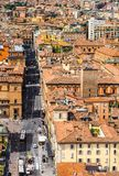 Aerial view of Bologna (hdr) Stock Photo