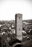 aerial view of bologna Royalty Free Stock Photo