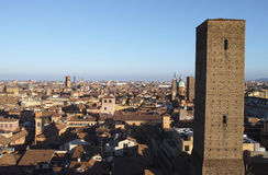 aerial view of bologna Stock Images