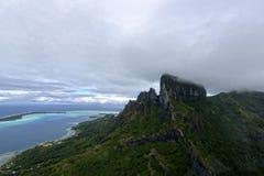 Aerial view on Bora Bora Royalty Free Stock Image