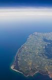 Aerial View of Bornholm Island Stock Image