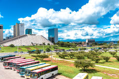 Aerial view of Brasilia, Brazil Stock Images
