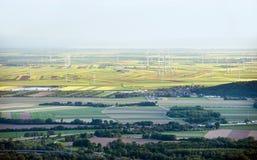 Aerial view from Bratislava, Slovakia Stock Photos
