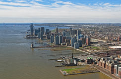 Aerial view of Brooklyn, most populous borough of New York City Royalty Free Stock Images