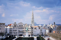 Aerial view of Brussels, Belgium Stock Photography
