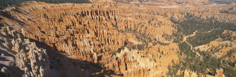 Aerial view of Bryce Canyon National Par Stock Photos