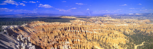 Aerial view of Bryce Canyon National Par Stock Photo