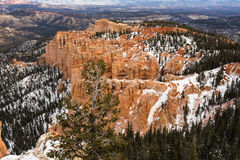 Aerial view of Bryce Canyon Royalty Free Stock Photography