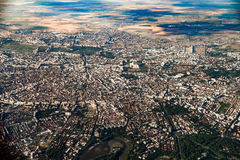 Aerial View Of Bucharest City Stock Photos