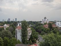 Aerial view of Bucharest, Romania Royalty Free Stock Photos