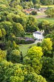 Aerial view of Buckinghamshire Landscape Stock Images