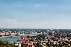 Aerial view of Budapest Stock Images