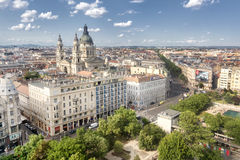 Aerial View Of Budapest, Hungary Stock Photo