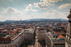 Aerial view Budapest Hungary Royalty Free Stock Photography