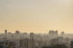 Aerial View of Buenos Aires Argentina Royalty Free Stock Photography