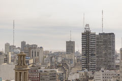 Aerial View of Buenos Aires from Panoramic Viewpoint Stock Image