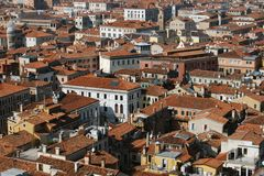 Aerial view of buildings in Venice, Italy Stock Image