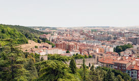 Aerial view of Burgos Stock Photography