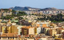 Aerial view of Cagliari (hdr) Imagenes de archivo