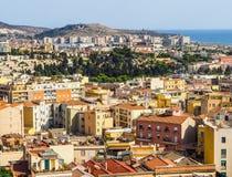 Aerial view of Cagliari (hdr) Imagen de archivo