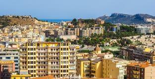 Aerial view of Cagliari (hdr) Fotos de archivo