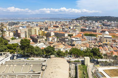 Aerial view of Cagliari old town, Sardinia, Italy Stock Photography