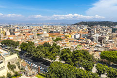 Aerial view of Cagliari old town, Sardinia, Italy Royalty Free Stock Image