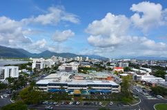 Aerial view of Cairns Queensland Australia Royalty Free Stock Images