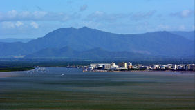Aerial view of Cairns Queensland Australia Royalty Free Stock Image