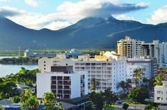 Aerial view of Cairns Queensland Australia Stock Image
