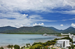 Aerial view of Cairns Royalty Free Stock Images