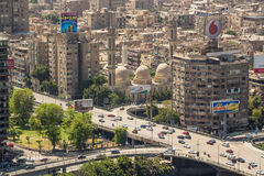 Aerial view of Cairo Stock Photos
