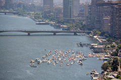 Aerial view of Cairo Royalty Free Stock Image