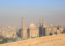 Aerial view of Cairo Royalty Free Stock Photos