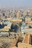 Aerial view of Cairo Royalty Free Stock Images